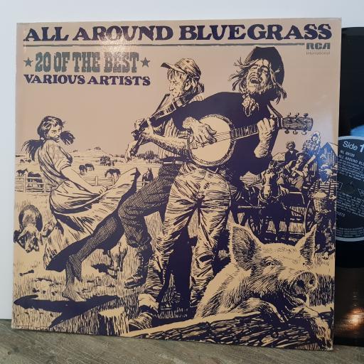 "VARIOUS All around bluegrass, 12"" vinyl LP compilation. NL89139"