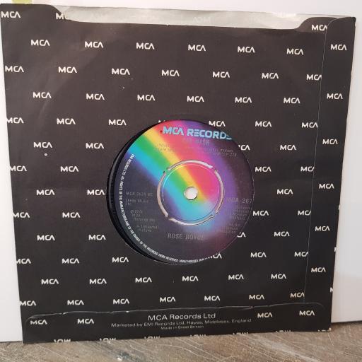 "ROSE ROYCE Car wash, 7"" vinyl single. MCA267"