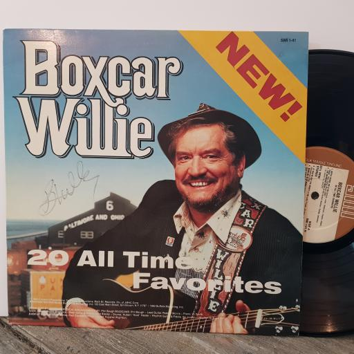 """BOXCAR WILLIE 20 all time favourites, 12"""" vinyl LP compilation. SMI141H"""