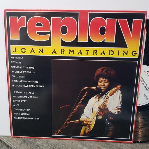 "JOAN ARMATRADING Replay, 12"" vinyl LP. FEDB5005"