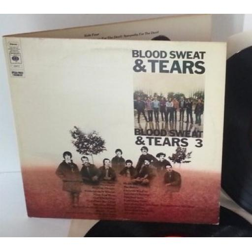BLOOD SWEAT & TEARS and BLOOD SWEAT & TEARS 3. CBS22015