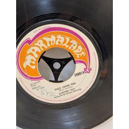 "BLOSSOM TOES Peace loving man, just above my hobby horse's head, 7"" vinyl SINGLE. 598014"