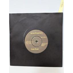 "KATE BUSH Army dreamers, Delius, Passing through air, 7"" vinyl SINGLE. EMI5106"