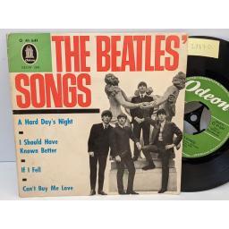 "THE BEATLES' songs, 7"" vinyl EP. O41641"