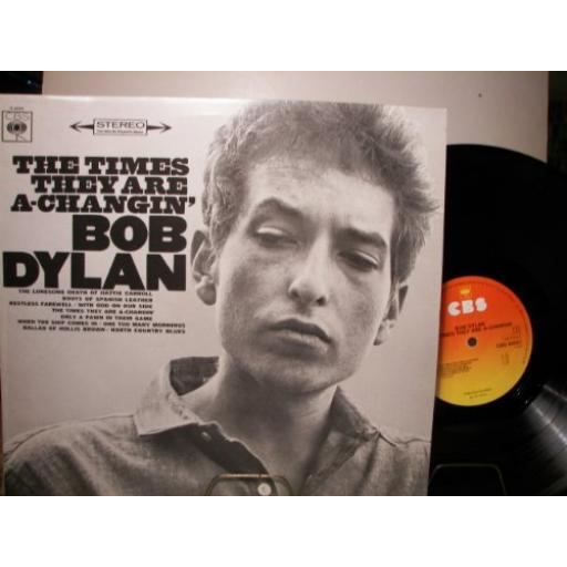 BOB DYLAN the times they are a-changin', 32021