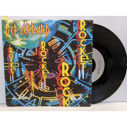 "DEF LEPPARD rocket, Release me, 7"" vinyl SINGLE. LEP6"