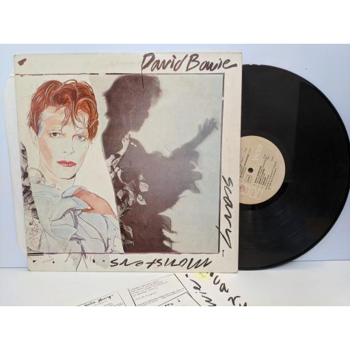 """DAVID BOWIE scary monsters PL1364712"""" vinyl LP"""