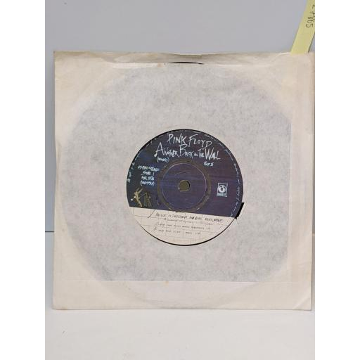 """PINK FLOYD Another brick in the wall, One of my turns, 7"""" vinyl SINGLE. HAR5194"""