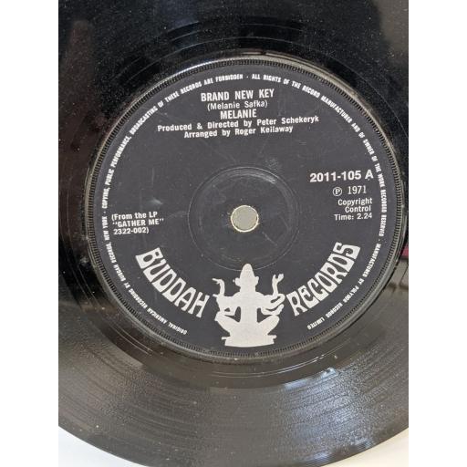 """MELANIE Brand new key, Some say (i got devil), 7"""" vinyl SINGLE. 2011105"""