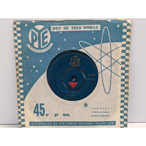 "REG OWEN Manhatten spiritual, Ritual blues, 7"" vinyl SINGLE. 7N25009"