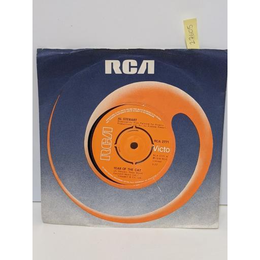 "AL STEWART Year of the cat, Broadway hotel, 7"" vinyl SINGLE. RCA2771"
