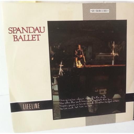 SPANDAU BALLET lifeline, 7 inch single, CHS 2642