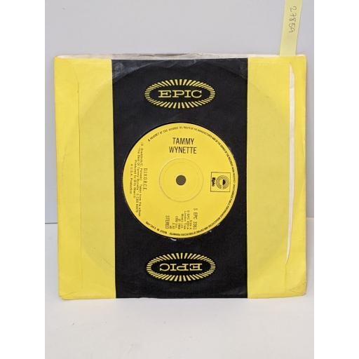 "TAMMY WYNETTE D.i.v.o.r.c.e., Almost persuaded, 7"" vinyl SINGLE. SEPC3361"