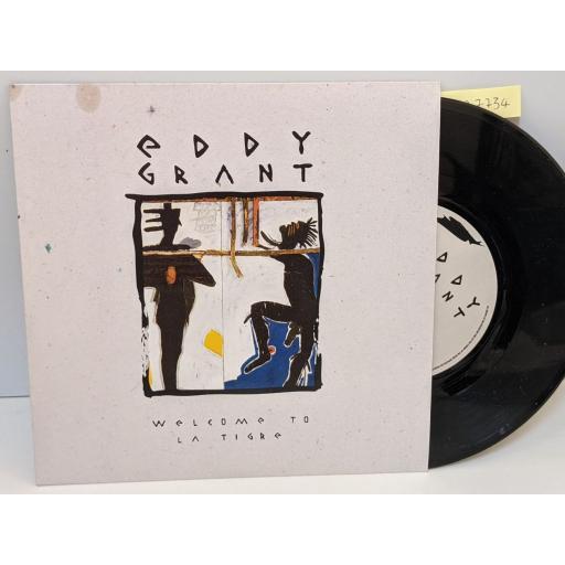"EDDY GRANT Welcome to la tigre, kidada, 7"" vinyl SINGLE. 920301"