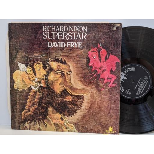 "DAVID FRYE Richard nixon superstar, 12"" vinyl LP. 3218058"