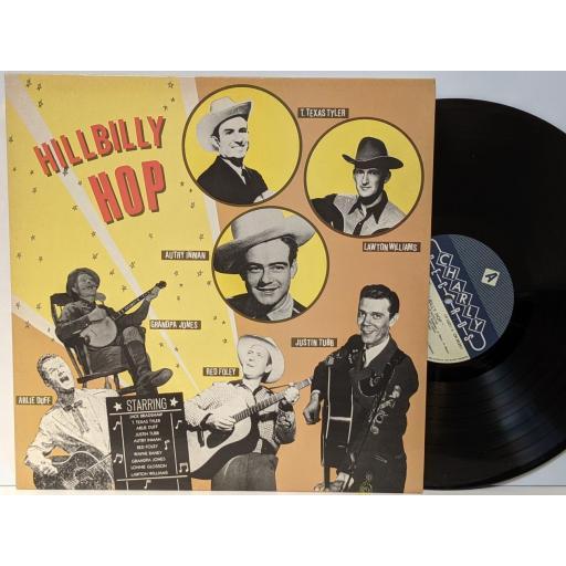 "VARIOUS Hillbilly hop, 12"" vinyl LP. CR30251"