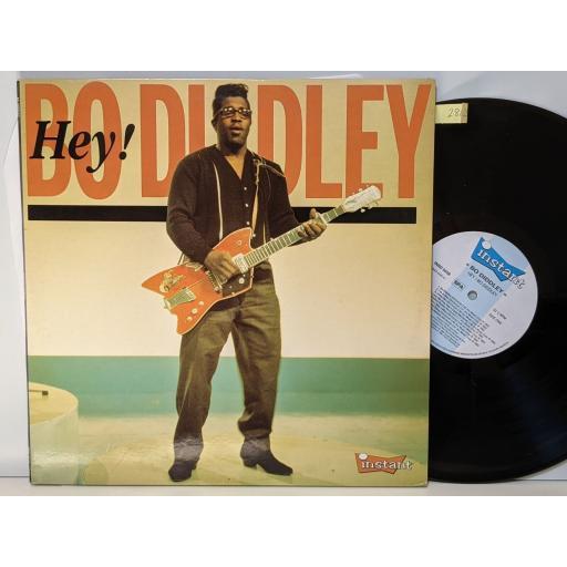 """BO DIDDLEY Hey! bo diddley, 2x 12"""" vinyl LP. INSD5038"""