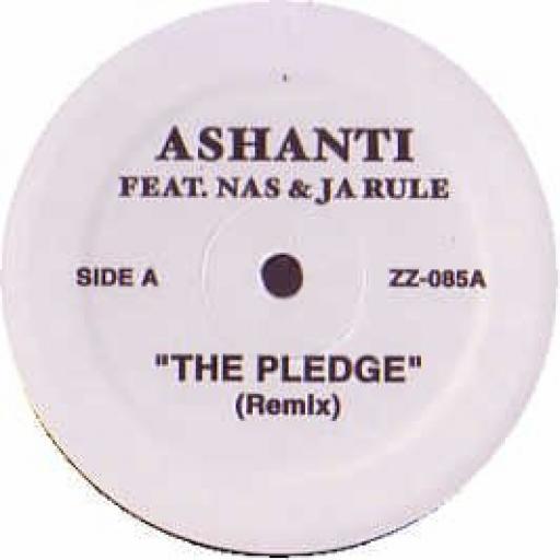 ASHANTI / 50 CENT / THE PLEDGE / PO NIGGA RICH NIGGA [Vinyl] ASHANTI / 50 CENT