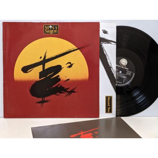 """BOUBLIL AND SCHONBERG Miss saigon, 2x 12"""" vinyl LP. WX329"""