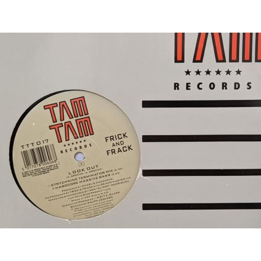 "FRICK AND FRACK Look out 4x remixes, 12"" vinyl SINGLE. TTT017"
