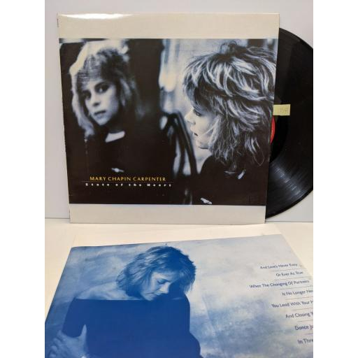 """MARY CHAPIN CARPENTER State of the heart, 12"""" vinyl LP. 4666911"""