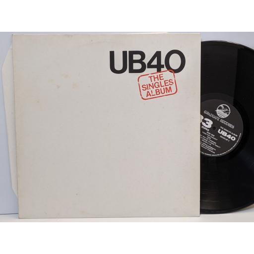 """UB40 The singles album, 12"""" vinyl LP compilation. GRADLSP3"""