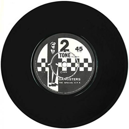 THE SPECIAL AKA, THE SELECTER gangsters, the selecter, 7 inch single, TT 1