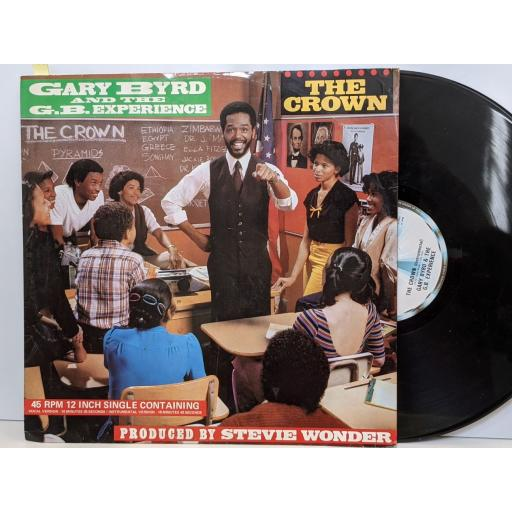 """GARY BYRD AND THE G.B. EXPERIENCE The crown, (instrumental), 12"""" vinyl SINGLE. TMGT1312"""