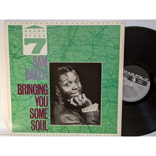 """SAM BAKER Bringing you some soul, 12"""" vinyl LP. CRB1137"""