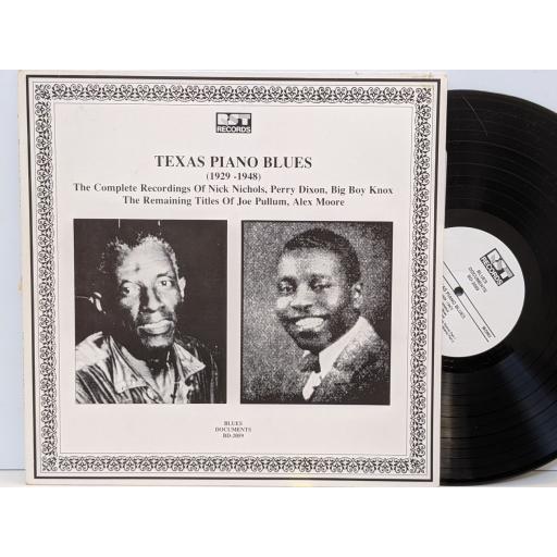 "VARIOUS Blues documents (1929-1947), 12"" vinyl LP. BD2059"