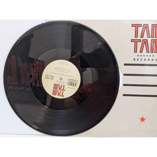 """SILVER BULLET 20 seconds to comply (final conflict), 20 seconds to comply (the omen mix), Bring fourth the guillotine (dj beats), 12"""" vinyl SINGLE. TTT019"""