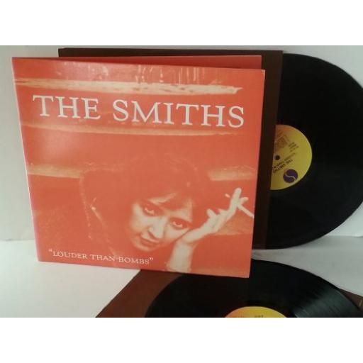 The Smiths LOUDER THAN BOMBS, double album, gatefold.