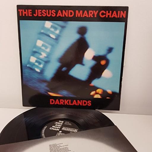 """JESUS AND MARY CHAIN, darklands, 12"""" LP, BYN11 242180-1"""