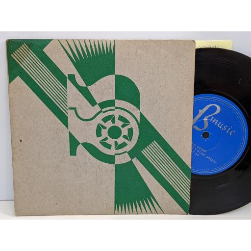"""NEW ORDER Procession, Everything's gone green, 7"""" vinyl SINGLE. FAC53"""