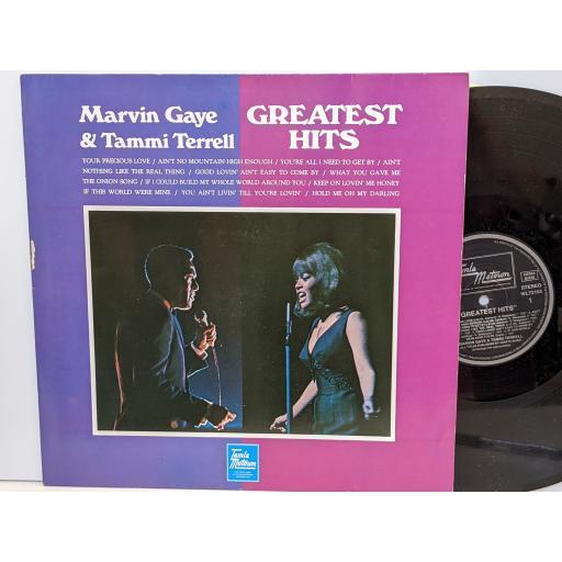"MARVIN GAYE AND TAMMI TERRELL Greatest hits, 12"" vinyl LP. WL72103"