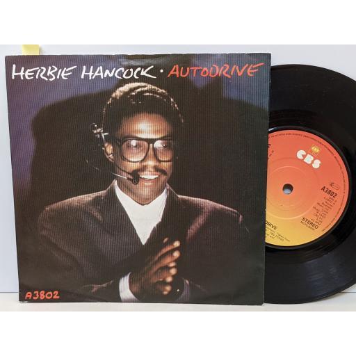 "HERBIE HANCOCK Autodrive, The bomb, 7"" vinyl SINGLE. A3802"