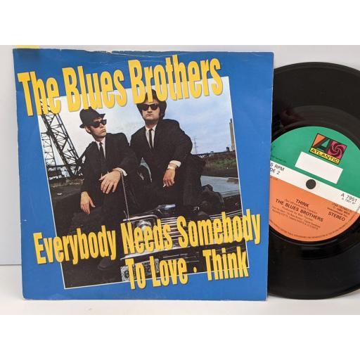"""THE BLUES BROTHERS Everybody needs somebody to love, Think, 7"""" vinyl SINGLE. A7951"""
