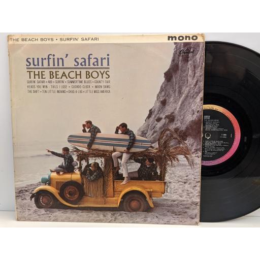 "THE BEACH BOYS Surfin' safari, 12"" vinyl LP. T1808"