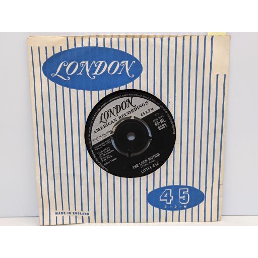 "LITTLE EVA The loco-motion, He is the boy, 7"" vinyl SINGLE. 45HL9581"