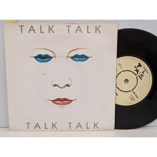 """TALK TALK Talk talk, Mirror man, 7"""" vinyl SINGLE. EMI5352"""