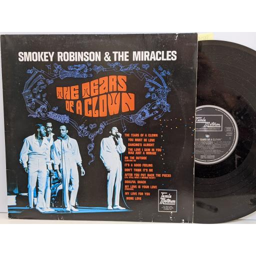"""SMOKEY ROBINSON AND THE MIRACLES The tears of a clown, 12"""" vinyl LP. WL72071"""