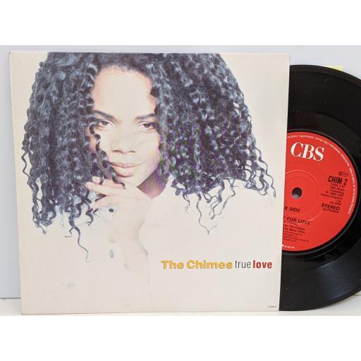 "THE CHIMES True love, Ready for love, 7"" vinyl SINGLE. CHIM2"