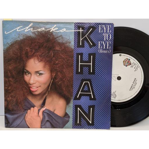 """CHAKA KHAN Eye to eye, La flamme, 7"""" vinyl SINGLE. W9009"""