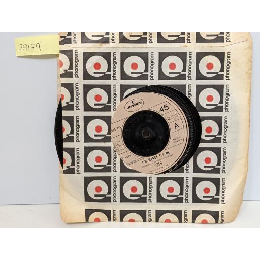 "10cc I'm mandy fly me, How dare you, 7"" vinyl SINGLE. 6008019"