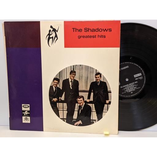 "THE SHADOWS Greatest hits, 12"" vinyl LP. GHX10012"