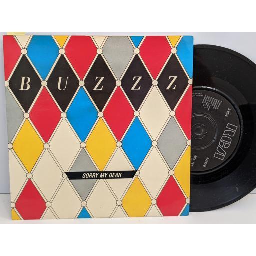 "BUZZZ Sorry my dear, Buzzzy (buzzz rock), 7"" vinyl SINGLE. RCA181"