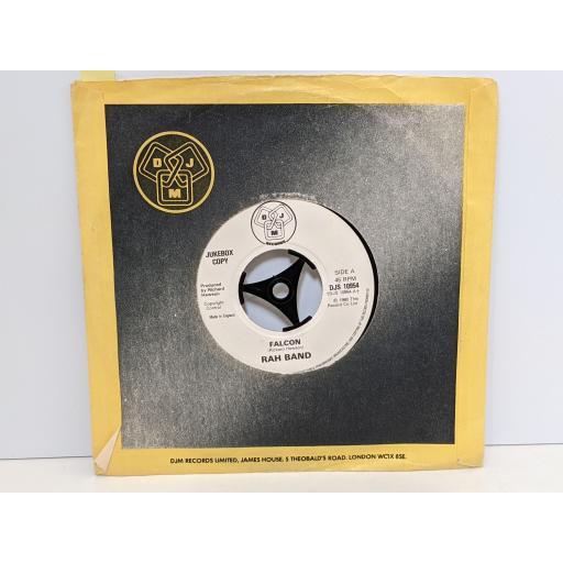 "RAH BAND Falcon, Falcon 2, 7"" vinyl SINGLE. DJS10954"