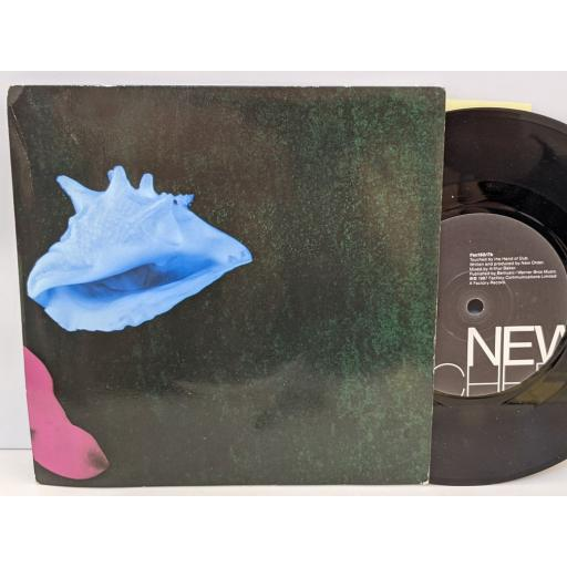 """NEW ORDER Touched by the hand of god, Touched by the hand of dub, 7"""" vinyl SINGLE. FAC193"""