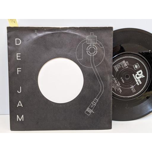 "L.L. COOL J I need love, My rhyme ain't done, 7"" vinyl SINGLE. 6511017"