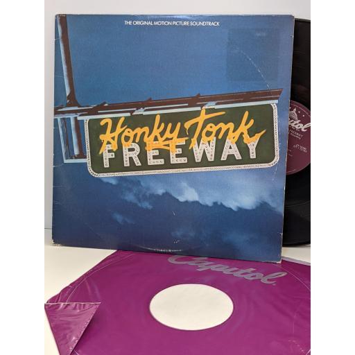 "HONKY TONKY FREEWAY Original soundtrack recording, 12"" vinyl LP. ST12160"